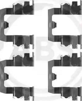 A.B.S. 1095Q - Lisakomplekt, ketaspiduriklotsid multiparts.ee