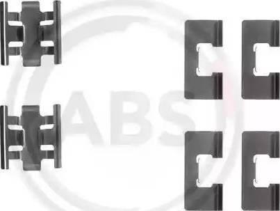 A.B.S. 1091Q - Lisakomplekt, ketaspiduriklotsid multiparts.ee