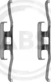 A.B.S. 1098Q - Lisakomplekt, ketaspiduriklotsid multiparts.ee
