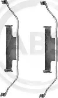 A.B.S. 1097Q - Lisakomplekt, ketaspiduriklotsid multiparts.ee