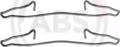 A.B.S. 1057Q - Lisakomplekt, ketaspiduriklotsid multiparts.ee