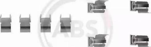 A.B.S. 1060Q - Lisakomplekt, ketaspiduriklotsid multiparts.ee