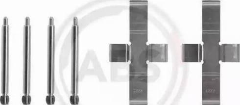 A.B.S. 1004Q - Lisakomplekt, ketaspiduriklotsid multiparts.ee