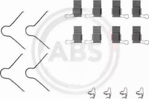 A.B.S. 1089Q - Lisakomplekt, ketaspiduriklotsid multiparts.ee