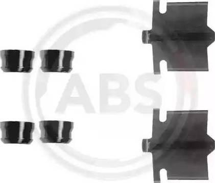A.B.S. 1084Q - Lisakomplekt, ketaspiduriklotsid multiparts.ee