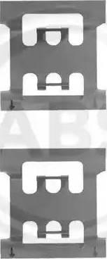 A.B.S. 1083Q - Lisakomplekt, ketaspiduriklotsid multiparts.ee