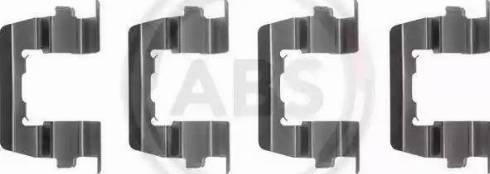 A.B.S. 1074Q - Lisakomplekt, ketaspiduriklotsid multiparts.ee