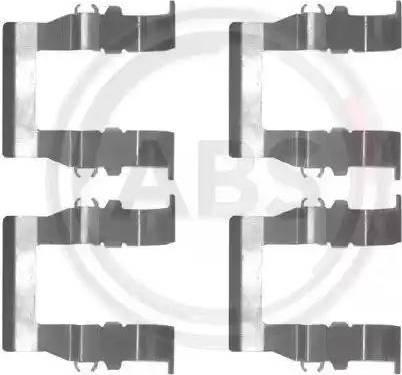A.B.S. 1194Q - Lisakomplekt, ketaspiduriklotsid multiparts.ee