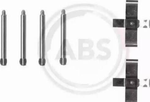 A.B.S. 1195Q - Lisakomplekt, ketaspiduriklotsid multiparts.ee