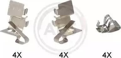 A.B.S. 1191Q - Lisakomplekt, ketaspiduriklotsid multiparts.ee