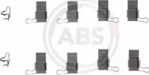 A.B.S. 1193Q - Lisakomplekt, ketaspiduriklotsid multiparts.ee