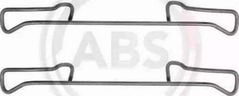 A.B.S. 1150Q - Lisakomplekt, ketaspiduriklotsid multiparts.ee