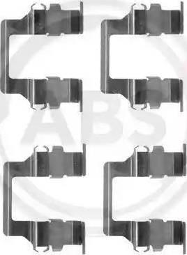A.B.S. 1164Q - Lisakomplekt, ketaspiduriklotsid multiparts.ee