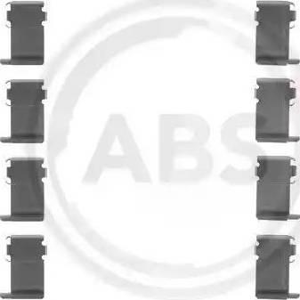A.B.S. 1162Q - Lisakomplekt, ketaspiduriklotsid multiparts.ee