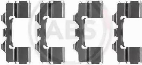 A.B.S. 1104Q - Lisakomplekt, ketaspiduriklotsid multiparts.ee