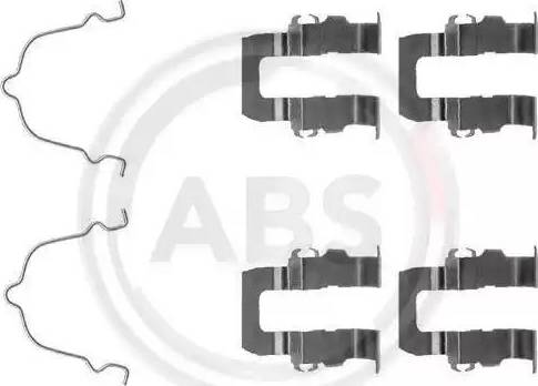 A.B.S. 1119Q - Lisakomplekt, ketaspiduriklotsid multiparts.ee