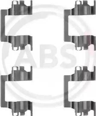 A.B.S. 1117Q - Lisakomplekt, ketaspiduriklotsid multiparts.ee