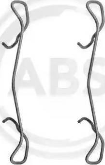A.B.S. 1189Q - Lisakomplekt, ketaspiduriklotsid multiparts.ee