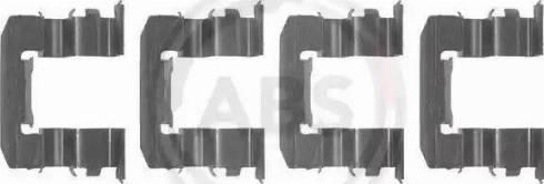 A.B.S. 1184Q - Lisakomplekt, ketaspiduriklotsid multiparts.ee