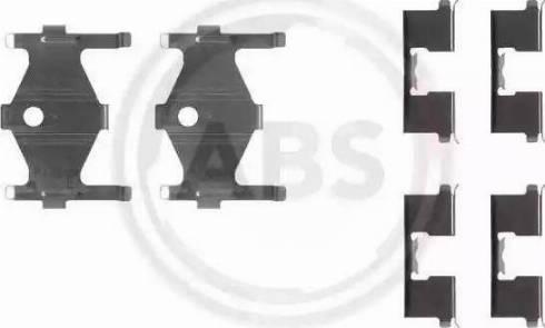 A.B.S. 1185Q - Lisakomplekt, ketaspiduriklotsid multiparts.ee