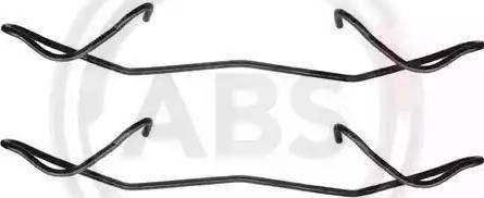 A.B.S. 1180Q - Lisakomplekt, ketaspiduriklotsid multiparts.ee