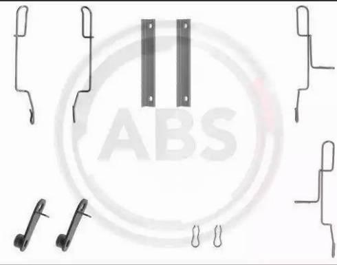 A.B.S. 1188Q - Lisakomplekt, ketaspiduriklotsid multiparts.ee