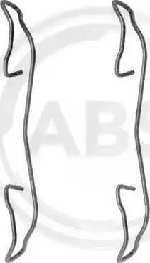A.B.S. 1187Q - Lisakomplekt, ketaspiduriklotsid multiparts.ee
