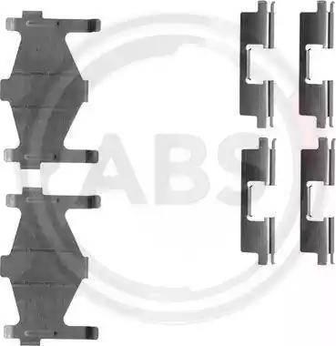 A.B.S. 1136Q - Lisakomplekt, ketaspiduriklotsid multiparts.ee