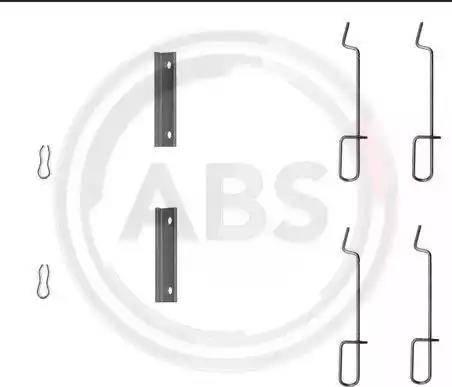 A.B.S. 1125Q - Lisakomplekt, ketaspiduriklotsid multiparts.ee