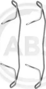 A.B.S. 1123Q - Lisakomplekt, ketaspiduriklotsid multiparts.ee