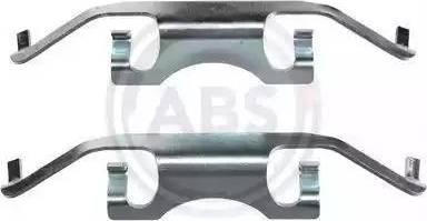 A.B.S. 1241Q - Lisakomplekt, ketaspiduriklotsid multiparts.ee