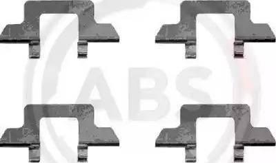A.B.S. 1242Q - Lisakomplekt, ketaspiduriklotsid multiparts.ee