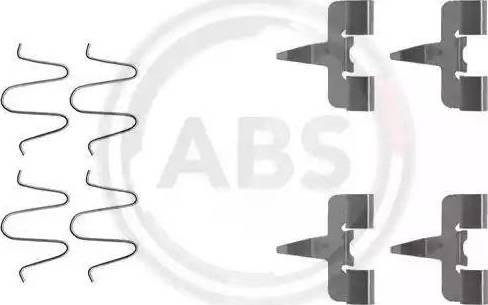 A.B.S. 1207Q - Lisakomplekt, ketaspiduriklotsid multiparts.ee