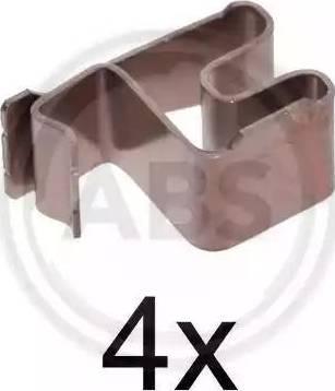 A.B.S. 1219Q - Lisakomplekt, ketaspiduriklotsid multiparts.ee