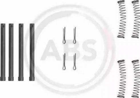 A.B.S. 1210Q - Lisakomplekt, ketaspiduriklotsid multiparts.ee