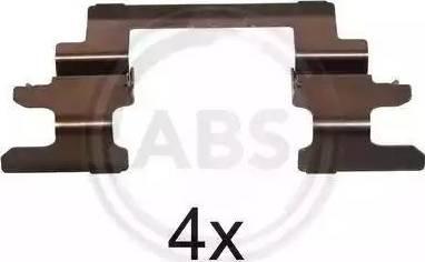 A.B.S. 1236Q - Lisakomplekt, ketaspiduriklotsid multiparts.ee