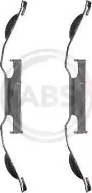 A.B.S. 1221Q - Lisakomplekt, ketaspiduriklotsid multiparts.ee