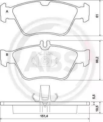 A.B.S. 36903 - Piduriklotsi komplekt,ketaspidur multiparts.ee