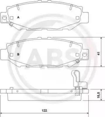 A.B.S. 36921 - Piduriklotsi komplekt,ketaspidur multiparts.ee