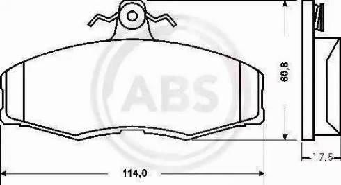 A.B.S. 36516 - Piduriklotsi komplekt,ketaspidur multiparts.ee