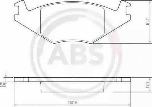 A.B.S. 36539 - Piduriklotsi komplekt,ketaspidur multiparts.ee
