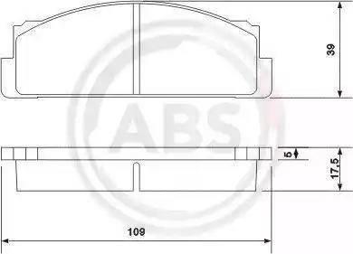 A.B.S. 36004 - Piduriklotsi komplekt,ketaspidur multiparts.ee