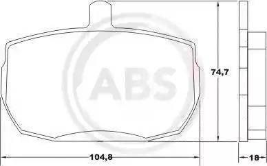 A.B.S. 36124 - Piduriklotsi komplekt,ketaspidur multiparts.ee