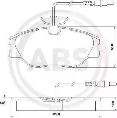 A.B.S. 36899 - Piduriklotsi komplekt,ketaspidur multiparts.ee