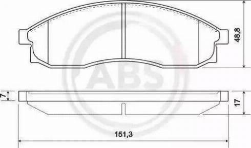 A.B.S. 36862 - Piduriklotsi komplekt,ketaspidur multiparts.ee
