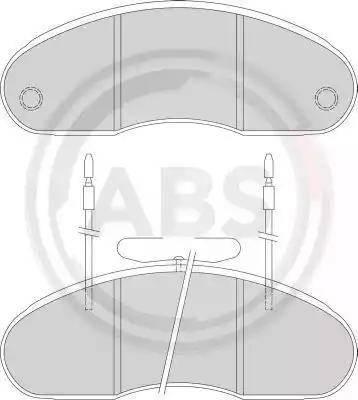 A.B.S. 36877 - Piduriklotsi komplekt,ketaspidur multiparts.ee