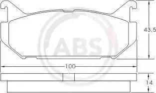 A.B.S. 36796 - Piduriklotsi komplekt,ketaspidur multiparts.ee