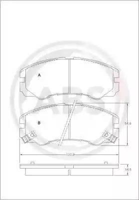 A.B.S. 36793 - Piduriklotsi komplekt,ketaspidur multiparts.ee