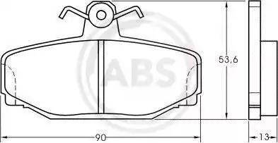 A.B.S. 36744 - Piduriklotsi komplekt,ketaspidur multiparts.ee