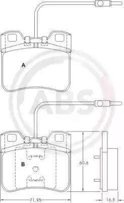 A.B.S. 36751 - Piduriklotsi komplekt,ketaspidur multiparts.ee